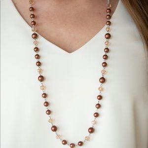 Pristine Prestige brown necklace
